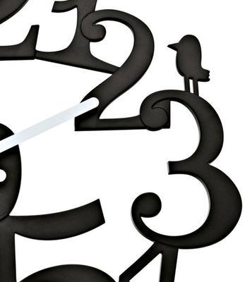 Koziol Pip Black Wall Clock image 3