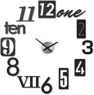 Umbra N Black Wall Clock [D]