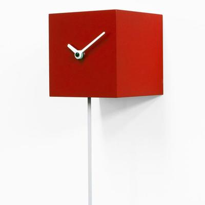 Progetti Long Time Pendulum Clock in Red image 2