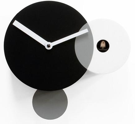 Progetti Kandinsky Black and White Cuckoo Clock