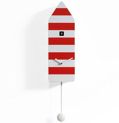 Progetti Capri Cuckoo Clock in Red