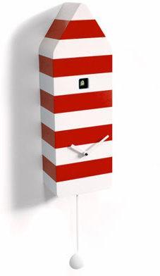 Progetti Capri Cuckoo Clock in Red image 3