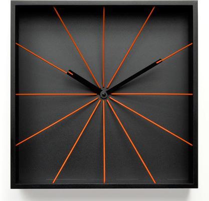 Progetti Perspective Wall Clock - Black