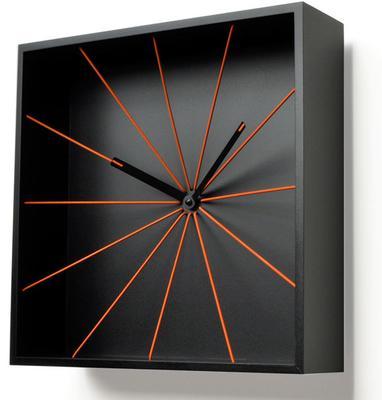 Progetti Perspective Wall Clock - Black image 2