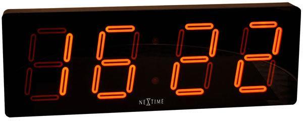 NeXtime Big D Clock - Black image 2