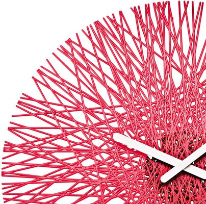 Koziol Silk Wall Clock - Raspberry Red image 2