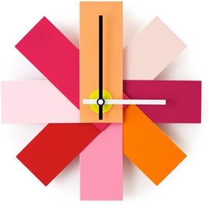 Normann Copenhagen Watch Me Wall Clock - Pink