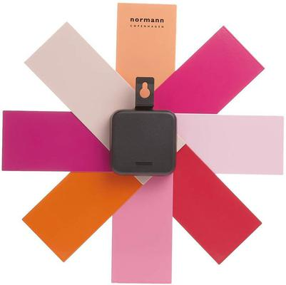 Normann Copenhagen Watch Me Wall Clock - Pink image 2