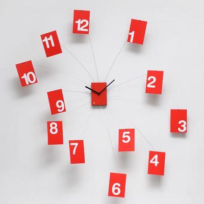 Progetti IlTempoVola Wall Clock (Red)