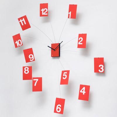 Progetti IlTempoVola Wall Clock (Red) image 2