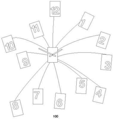 Progetti IlTempoVola Wall Clock (Red) image 4