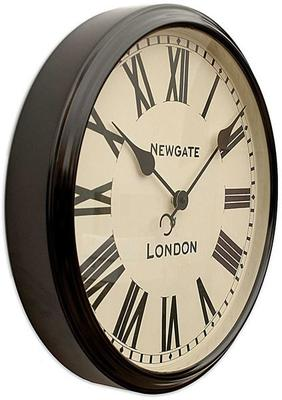 Newgate Battersby Clock (Black) image 3