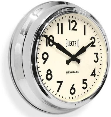 Newgate Giant Electric Station Clock (Chrome) image 2