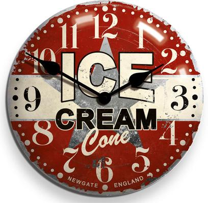 Newgate Ice Cream Advertising Wall Clock