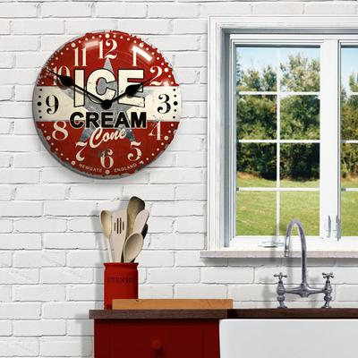 Newgate Ice Cream Advertising Wall Clock image 2