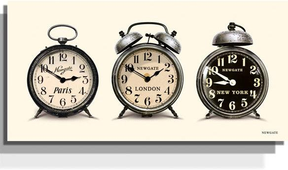 Newgate Lambeth Timezone Wall Clock