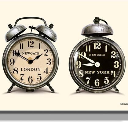 Newgate Lambeth Timezone Wall Clock image 2