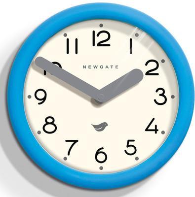 Newgate Pantry Wall Clock (Aqua Blue)
