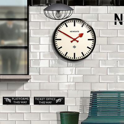 Newgate Putney Wall Clock (Black) image 4
