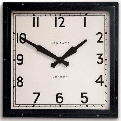 Newgate Quad Clock (Black)