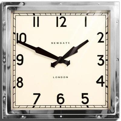 Newgate Quad Clock (Chrome)