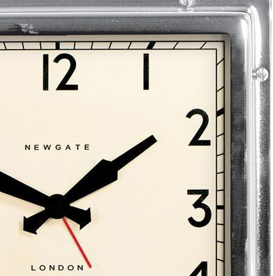 Newgate Quad Clock (Chrome) image 2