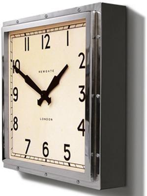 Newgate Quad Clock (Chrome) image 3