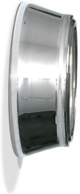 Newgate Small 50s Electric Wall Clock (Chrome) image 2