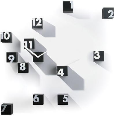 Progetti RND Time Wall Clock (Black)