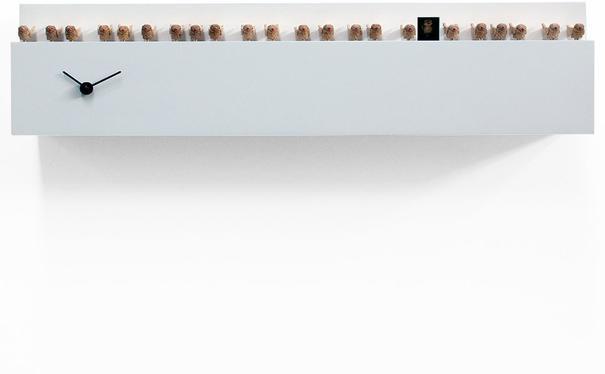 Progetti The Birds Cuckoo Clock (White)