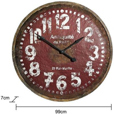 Large Wooden Wall Clock image 2