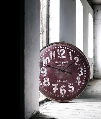 Large Wooden Wall Clock image 3