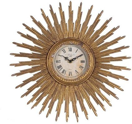 Antique Sunburst Clock image 2