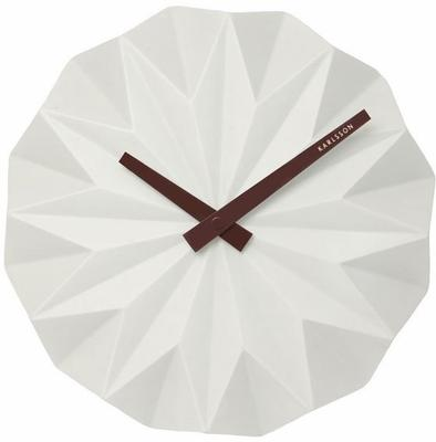 Karlsson Origami Wall Clock - White
