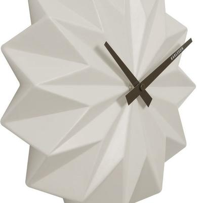 Karlsson Origami Wall Clock - White image 2