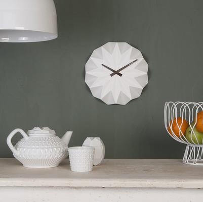 Karlsson Origami Wall Clock - White image 3