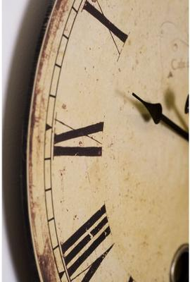Round French Wall Clock Vintage Design image 2