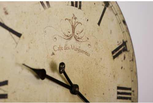 Round French Wall Clock Vintage Design image 4