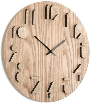 Umbra Shadow Wooden Wall Clock