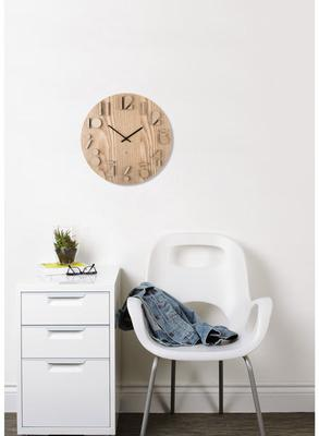 Umbra Shadow Wooden Wall Clock image 2