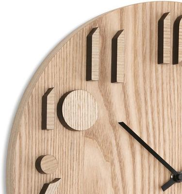 Umbra Shadow Wooden Wall Clock image 3