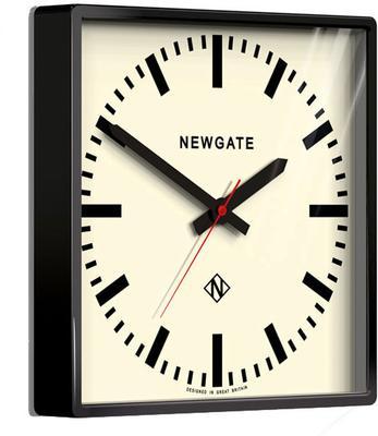 Newgate Underpass Retro Wall Clock - Black