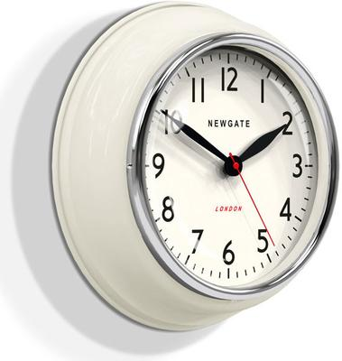 Newgate Cookhouse Wall Clock - Linen White