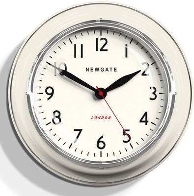 Newgate Cookhouse Wall Clock - Linen White image 2