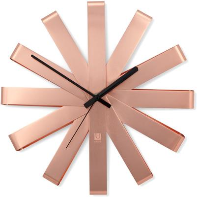 Umbra Ribbon Wall Clock - Copper image 2