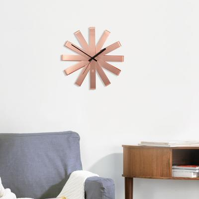 Umbra Ribbon Wall Clock - Copper image 3