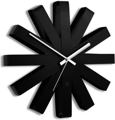 Umbra Ribbon Wall Clock - Black