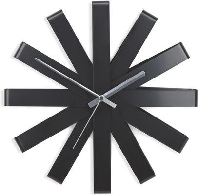Umbra Ribbon Wall Clock - Black image 2
