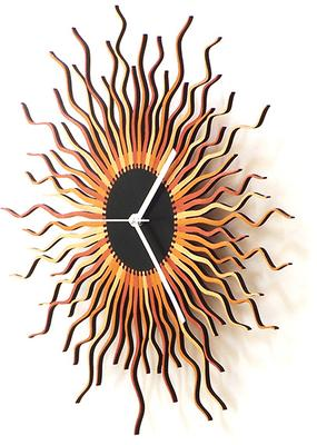 Medusa Wall Clock - Copper image 3