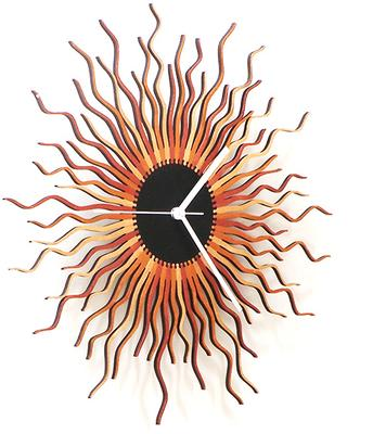 Medusa Wall Clock - Copper image 4